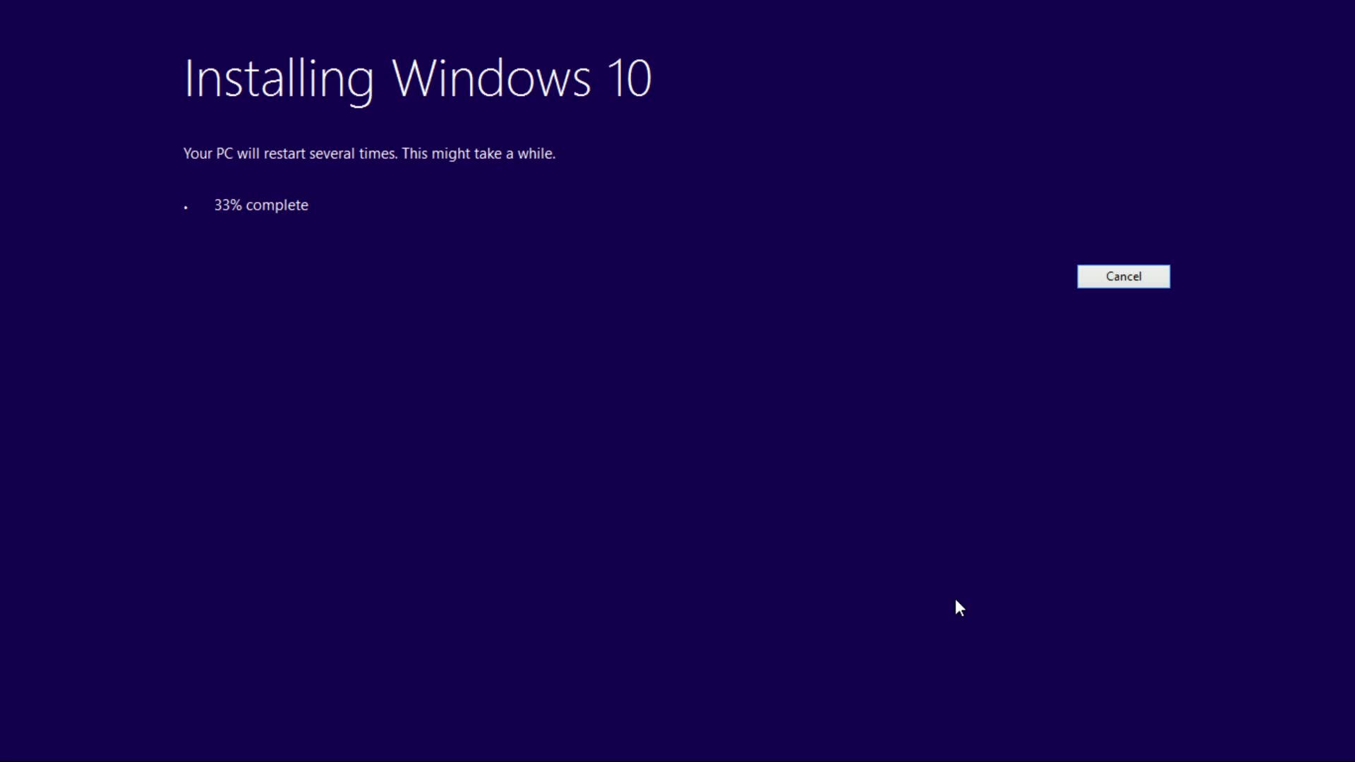Upgrade to windows 10 for Cpm windows 10